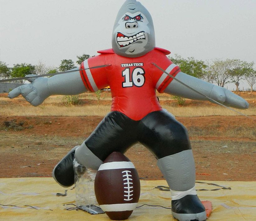 Texas Tech Football Gorilla Inflatable