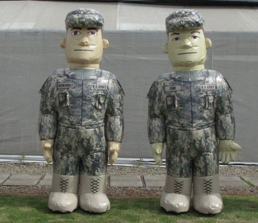 US Army Inflatable Costume