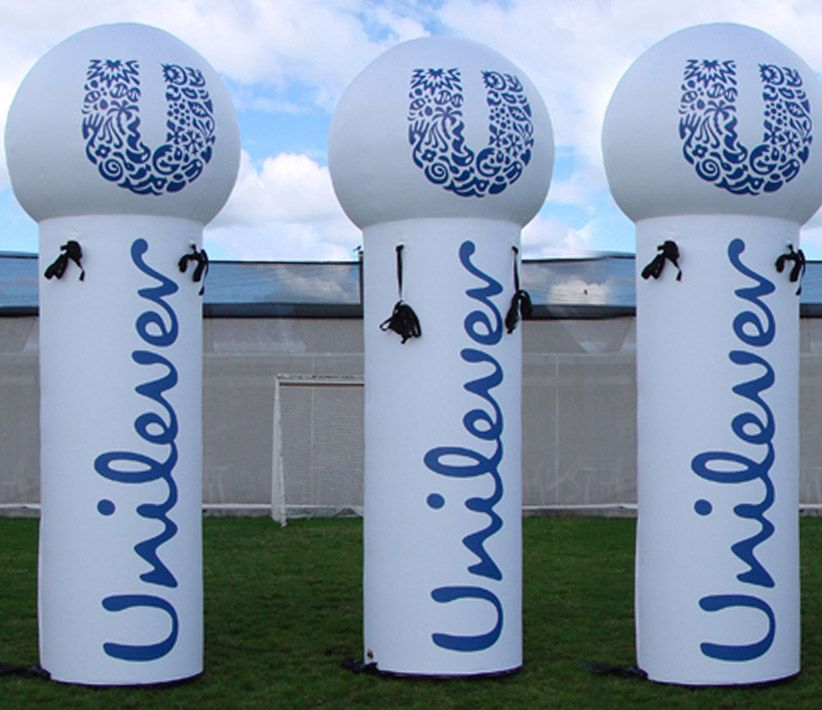 Unilever Giant Inflatable