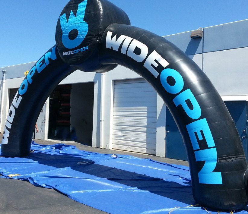 Wide Open Inflatable Arch