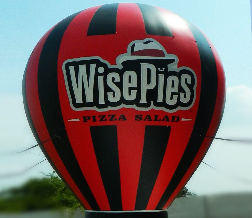 WisePies Pizza Cold Air Balloon