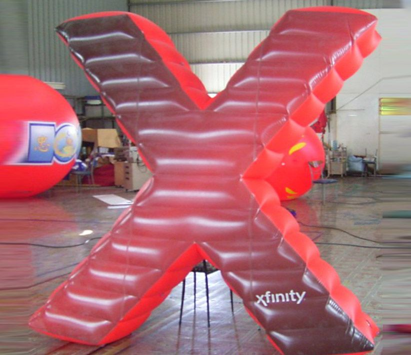 Xfinity Red X Giant Inflatable