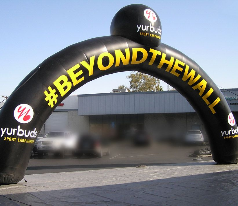 Yurbuds Large Inflatable Arch
