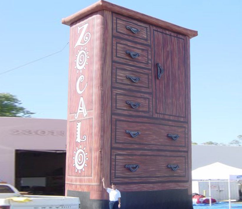 Zocalo Dresser Giant Inflatable