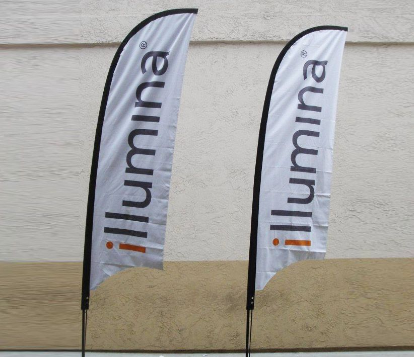 illumina Flying Promo Banners